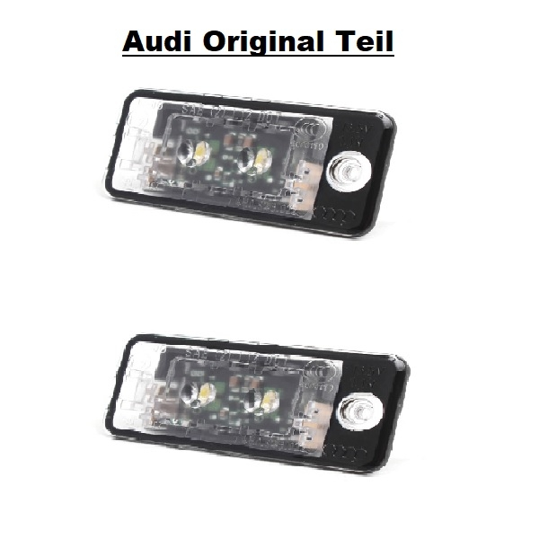 2x TOP LED SMD Kennzeichenbeleuchtung Audi A6 4F2 4F C6 Limo CB S6